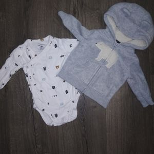 Carter's- two piece set baby BOY